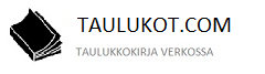 Taulukot logo